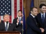 Donald Trump attacks Canada, European allies over trade issue