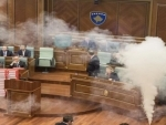 Kosovo: Opposition party opens tear gas in parliament to halt voting