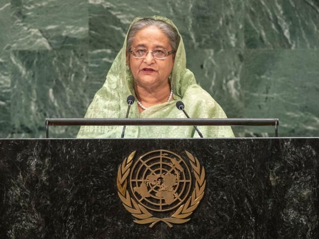 Bangladesh 'disappointed' at lack of progress in alleviating plight of Rohingya, Prime Minister tells UN Assembly