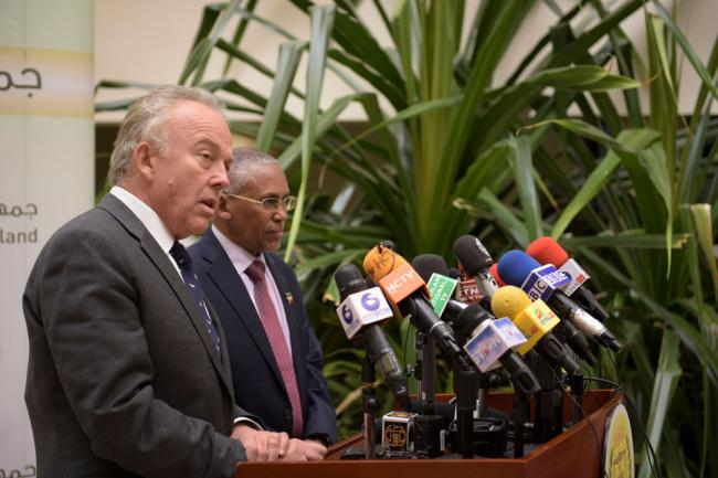 In Hargeisa, UN envoy for Somalia calls for calm and dialogue following clashes