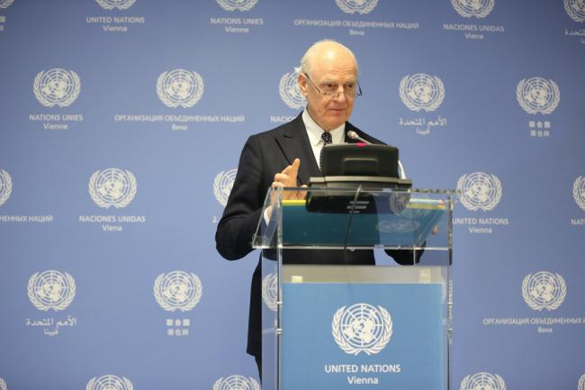 UN envoy for Syria to attend Russia-sponsored talks in Sochi