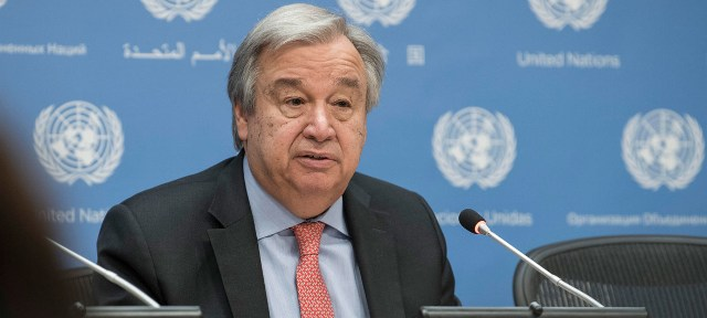Caspian Sea deal an invaluable step towards easing regional tensions, says UN Chief
