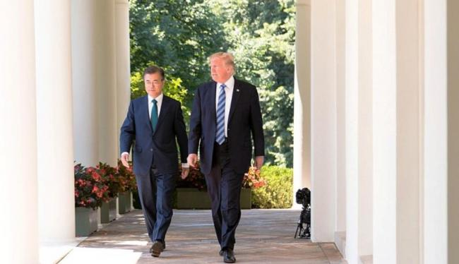 Trump deserves credit for talks between North, South Korea: Moon Jae-in
