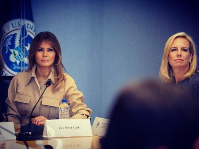 Melania Trump expresses concern over new US child migrants policy