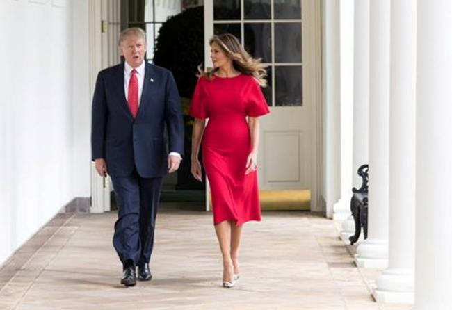 Melania Trump brushes aside marriage rift speculations, says 'we are fine'