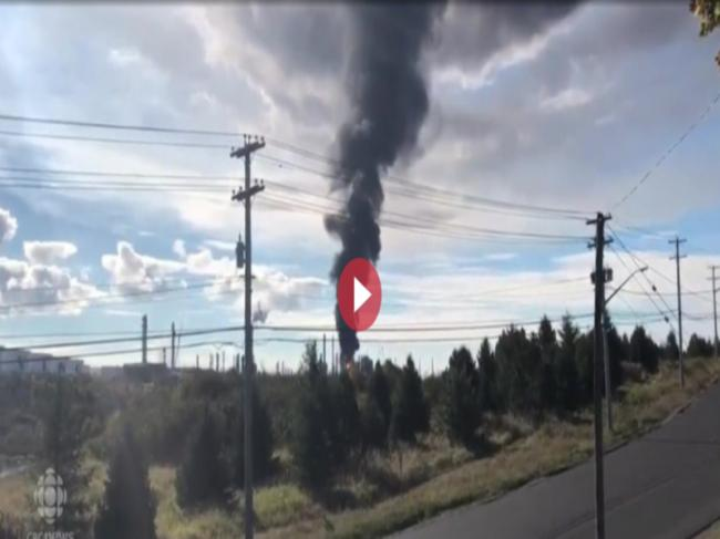 Canada: Explosion, fire at Saint John's oil refinery; two injured