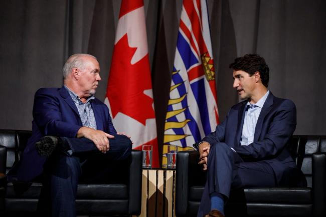 Canada PM Trudeau discusses BC wildfire and its impact with Premier Horgan
