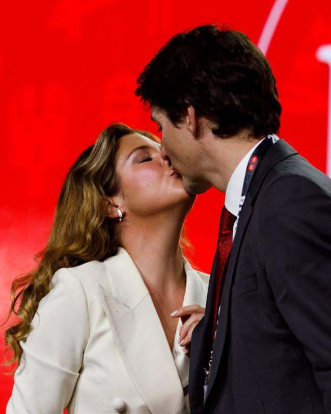Canada PM Trudeau wishes her wife Sophie on birthday, shares intimate moment on social media
