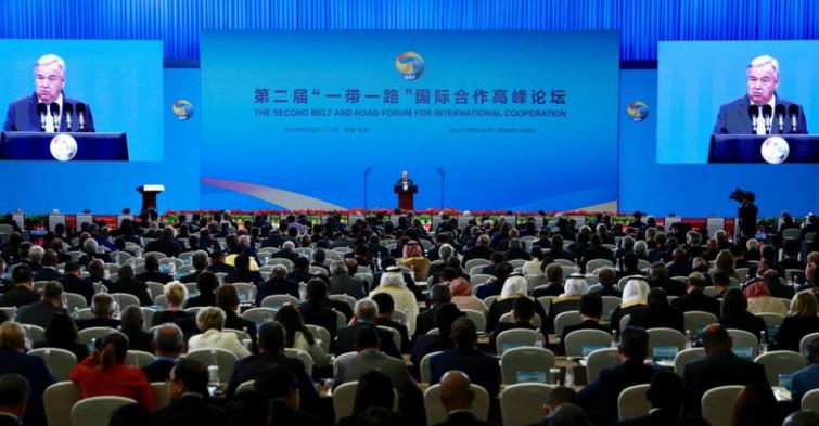 At China's Belt and Road Forum, Guterres calls for 'inclusive, sustainable and durable' development