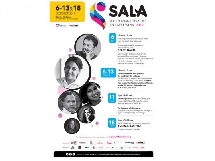 California to showcase South Asian Literature and Art Festival 2019