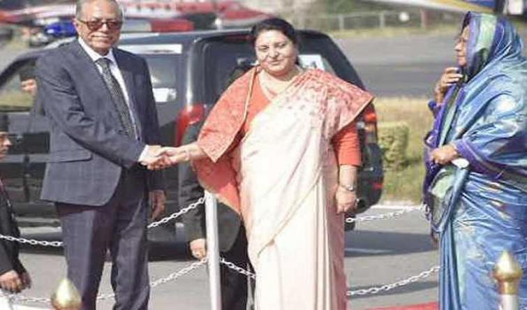 Bangladesh President leaves for four-day official Nepal visit