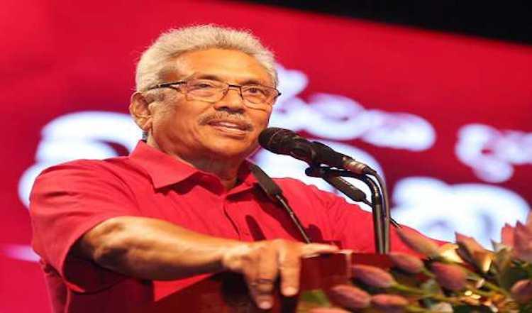 Gotabaya Rajapaksa takes oath as Sri Lankan President