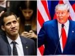 Venezuela crisis: US President Donald Trump speaks with Guaido, congratulates him