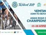 Cyclists battle for top honours at the Asian Road Cycling Championships