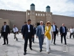 President of Germany becomes familiar with Khorezm's ancient monuments