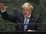 UK's Johnson warns of dystopian digital future, calls on UN to set global standards for emerging technologies