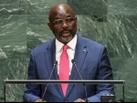 Liberian President credits UN for '16 years of unbroken peace', outlines plan to reduce poverty, boost growth