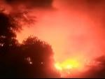 Thousands left homeless as fire destroys Mirpur slum