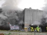 Over 300 people evacuated from supermarket in France due to fire