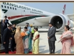 Sheikh Hasina completes her India trip, returns to Bangladesh