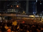 Hong Kong witnesses another day of protest as agitators defy ban on march