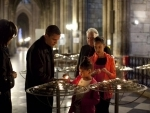 World leaders express shock over Notre Dame fire in Paris