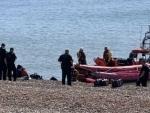 UK Border force intercept 74 migrants crossing English Channel