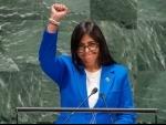 Venezuela Vice-President speaks out against 'coup d'etat', $130 bn lost to 'economic terrorism'