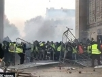 French Police detain over 120 people amid Yellow Vest rallies in Paris
