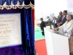 Bangladesh PM Sheikh Hasina inaugurates construction of the terminal 3 at Hazrat Shahjalal International Airport