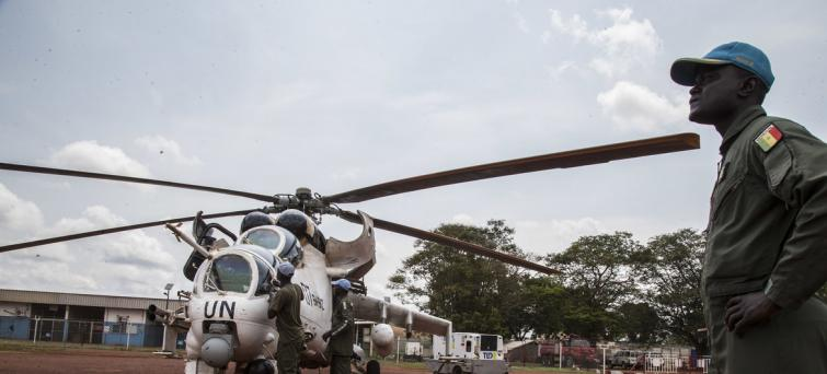 Central African Republic: Three UN peacekeepers killed, fourth injured following helicopter crash
