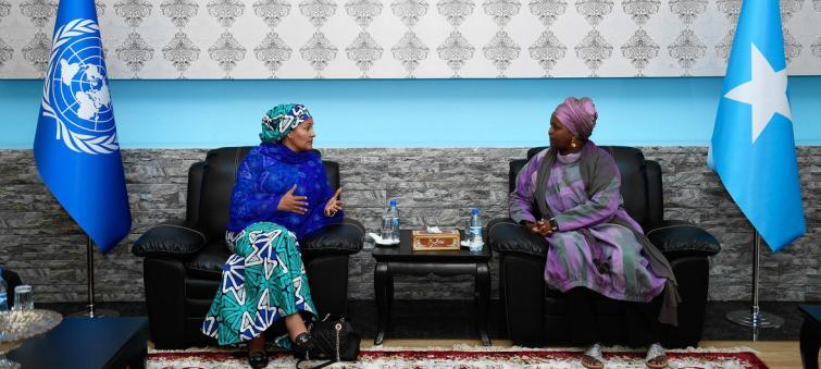 Somalia advancing towards 'inclusive and peaceful future' for women, deputy UN chief