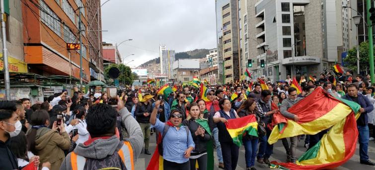UN chief hails 'positive developments' towards ending political crisis in Bolivia