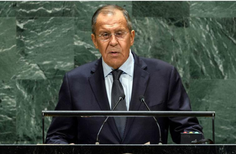 Unable to accept its decline, West subverts international law to suit its needs, Russia's Lavrov tells UN