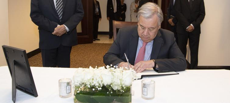 Hatred 'a threat to everyone', declares Guterres calling for global effort to end xenophobia and 'loathsome rhetoric'