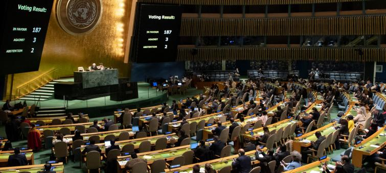 UN Member States overwhelmingly support end of US embargo against Cuba