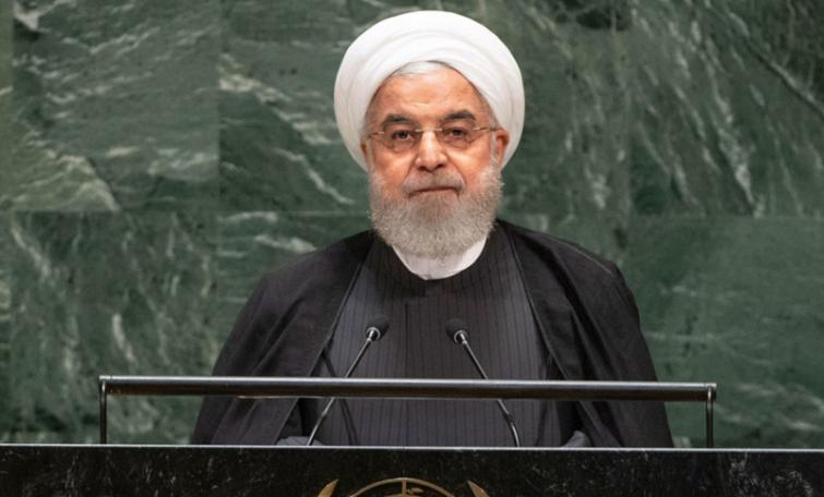 At UN, Iran proposes 'coalition for hope' to pull Gulf region from 'edge of collapse'