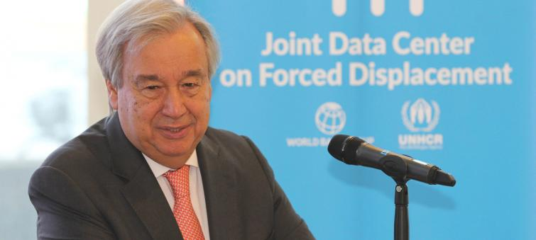 New refugee data centre can inform policies, solutions worldwide: Guterres