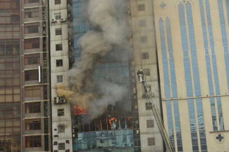 Banani high-rise fire: Death toll touches 26