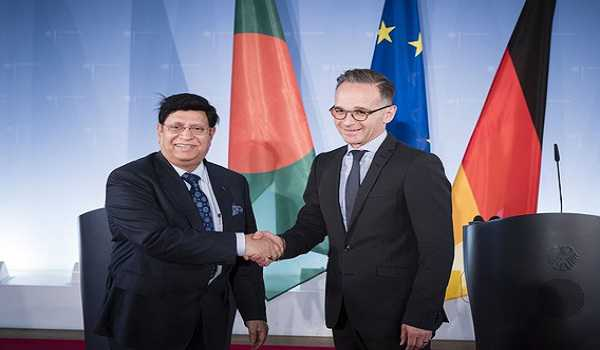 Bangladesh FM meets his German counterpart, calls for stronger international action to solve Rohingya issue