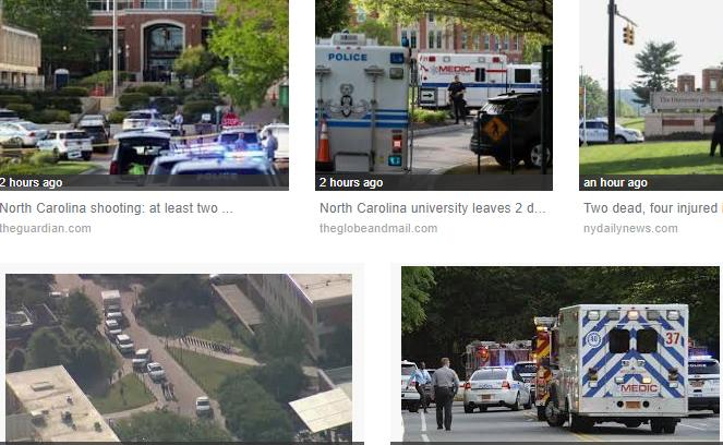 Shooting in University of North Carolina campus kills 2