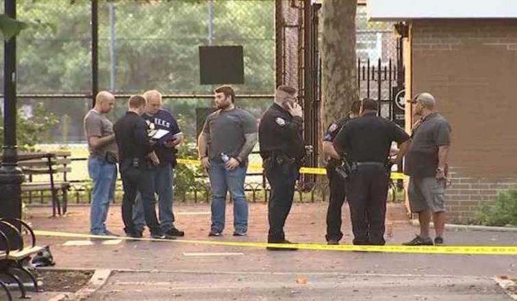 Several injured is NY shooting at playground