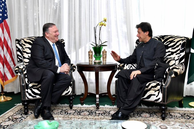 We are moving in right direction: Mike Pompeo says after meeting Imran Khan