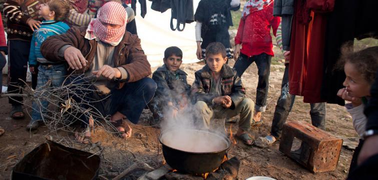 Landmine explosion kills 5 children in eastern Syria
