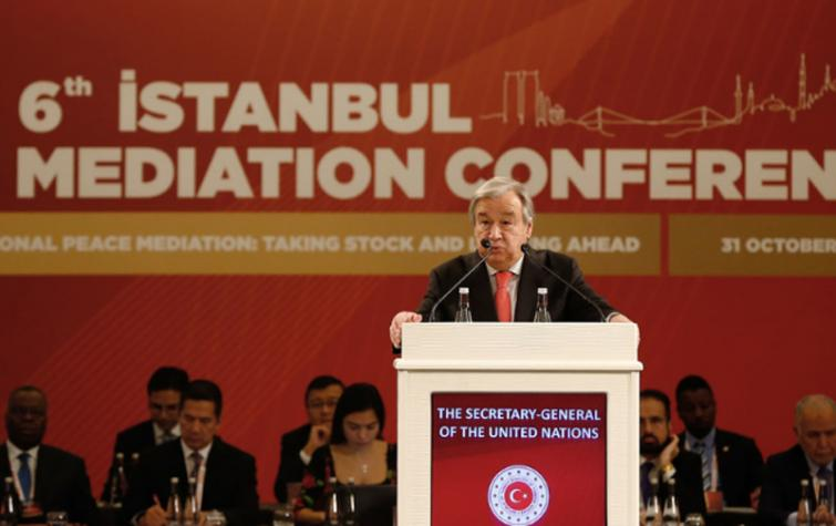 Syria's groundbreaking constitutional talks: 'a clear success of mediation' says Guterres in Turkey
