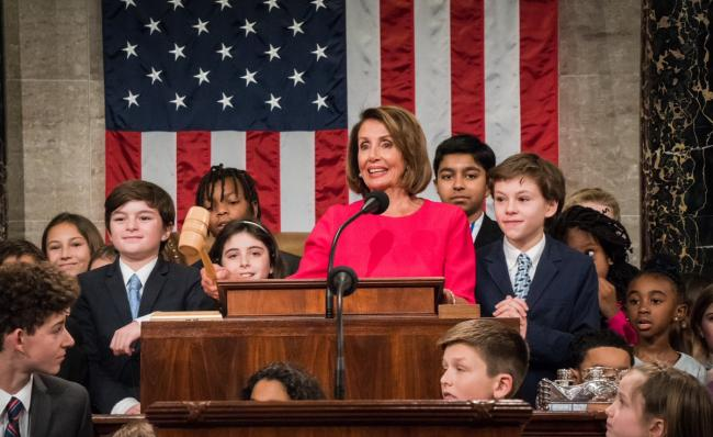 Nancy Pelosi gets elected as Speaker of US House of Representatives
