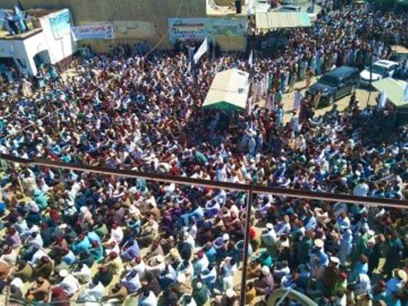 People protest against Pakistan Army in south Waziristan