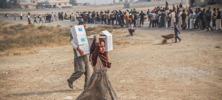 Aid to vulnerable Iraqis may 'come to a complete halt within weeks'