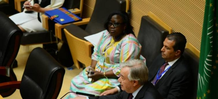 AU Summit: Guterres calls for 'collective, comprehensive, coordinated' response to challenges facing Africa