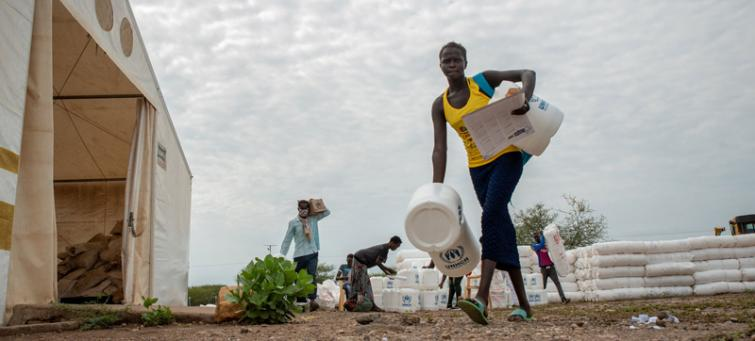 UN agencies join forces to protect forcibly displaced during pandemic